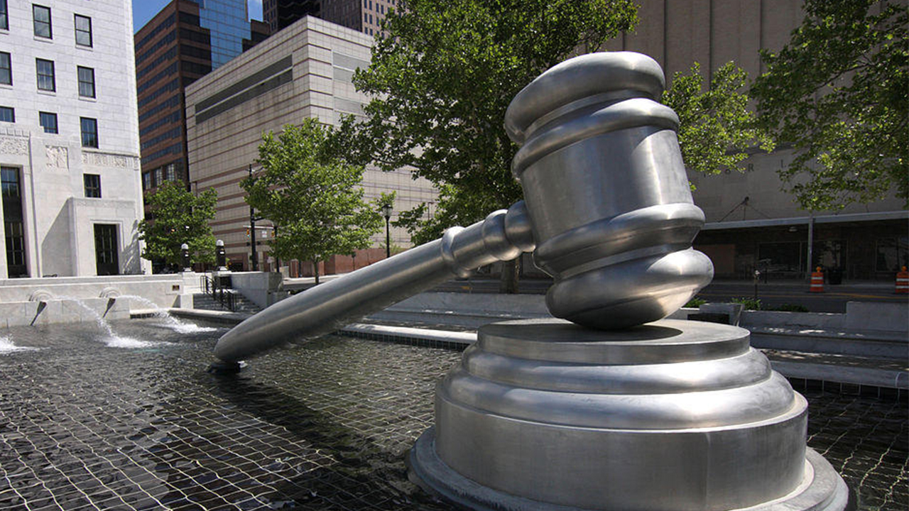 photo of gavel sculpture signifying criminal justice