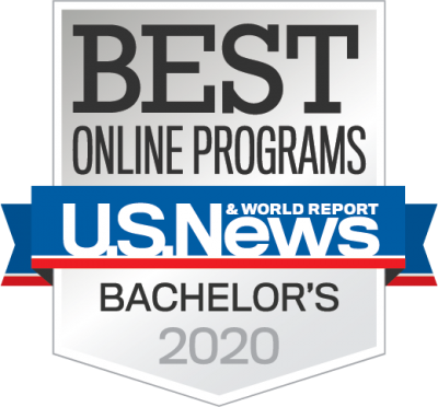 Best Online Programs Bachelors 2020 ranking by U.S. News & World Report