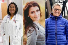 Dr. Akua Amponsah, Heather Thobe and Julia Applegate